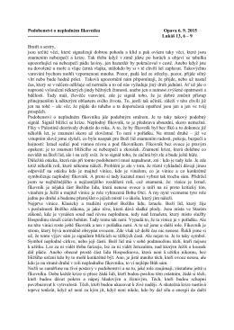 Podobenství o neplodném fíkovníku Opava 6. 9. 2015