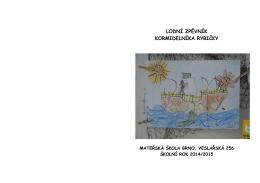 lodní zpěvník - Mateřská škola Brno, Veslařská 256