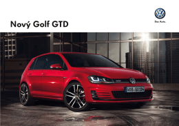 Nový Golf GTD
