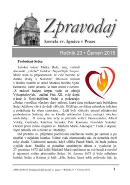 Červen 2015 - Kostel sv. Ignáce