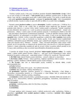 II. Základní podoby jazyka A. Místo češtiny mezi