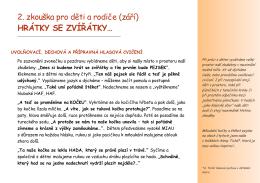 PODZIM – blog 2