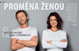 rozhovor s Jiřím Langmajerem a Adélou Gondíkovou, Instinkt 11/2015
