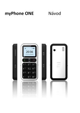 myPhone ONE Návod