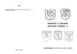 KUTNOHORSKO. Vlastivědný sborník 15/2012