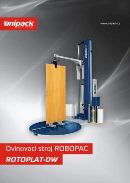 Ovinovací stroj ROBOPAC ROTOPLAT-DW