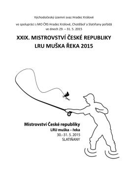 Propozice - Český rybářský svaz