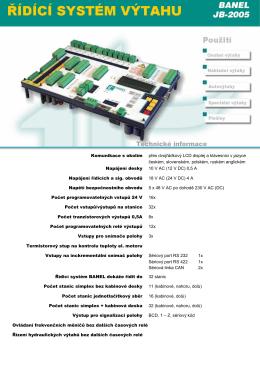 Technické informace Banel \(2\)