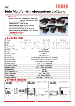 Základní údaje - GP Plastics s.r.o.