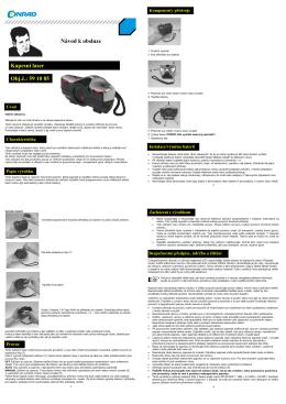 Kapesní laser Obj.č.: 59 10 85 Návod k obsluze