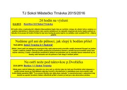 ZDE - TJ Sokol Městečko Trnávka