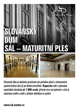 Maturitní plesy – nabídka služeb (CZ) (PDF - 1.04