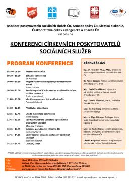 Program konference