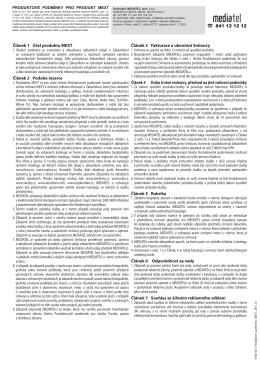 Ke stažení v PDF - MEDIATEL, spol. s r.o.