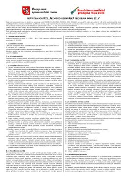 řeznicko-uzenářská prodejna roku 2015