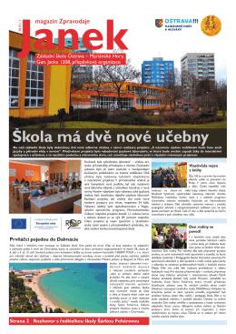 Magazínu JANEK - Městský Obvod Mariánské Hory a Hulváky