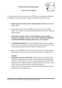 pokyny pro prodávající_březen 2015