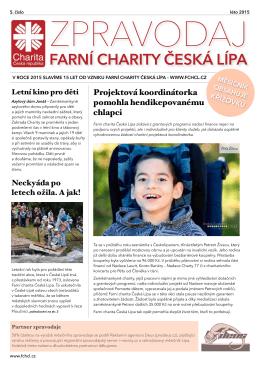 Léto 2015 - Farní charita Česká Lípa