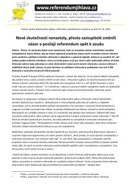 Tisková zpráva v pdf ke stažení.