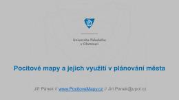Jiří Pánek, Univerzita Palackého Olomouc