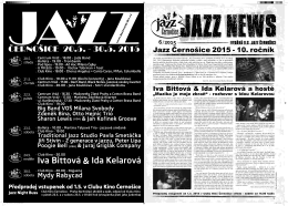 Jazz News 06 / 2015