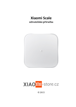 Xiaomi Scale - Xiaomi