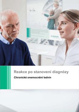 Reakce po stanovení diagnózy