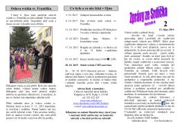 říjen - církevní mateřská škola srdíčko
