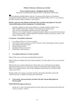 Příbalová informace: informace pro uživatele Bexsero injekční