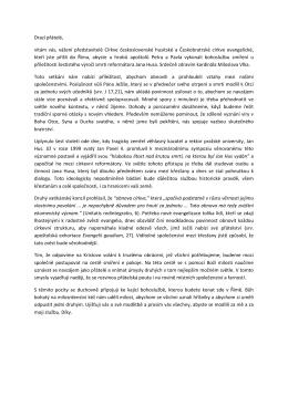 Projev papeže Františka 15.6.2015