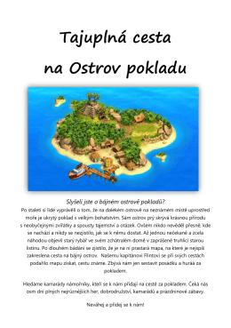 Tajuplná cesta na Ostrov pokladu