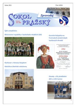 3 duben 2015 - Sokol Pražský