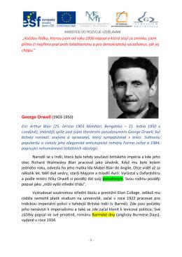 George Orwell (1903