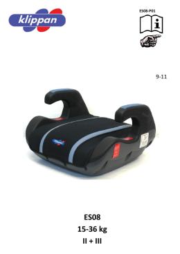 ES08 15-36 kg II + III