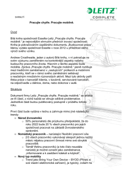 Leitz_Bílá kniha_Shrnutí_CZ