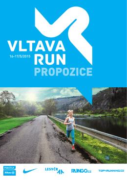 Propozice - Vltava Run