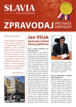 Jan Vlček - Slavia pojišťovna