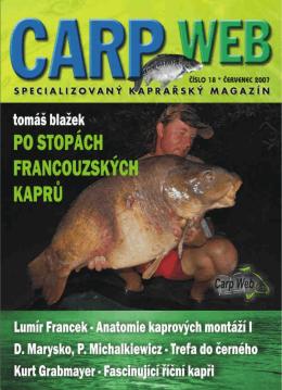 CarpWeb - specializovaný kaprařský magazín