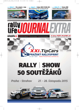 Rally life Journal Extra 2015