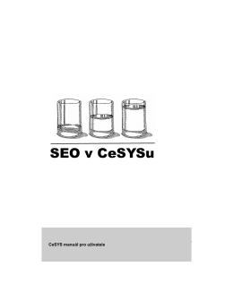 SEO v CeSYSu - Ukázka systému CeSYS