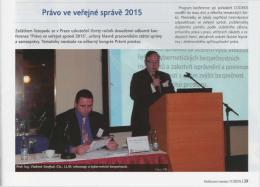 více - Právo ve veřejné správě 2015