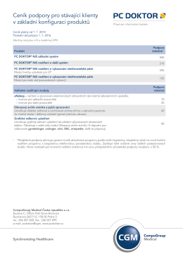 160103 ceník PC DOKTOR NIS.indd