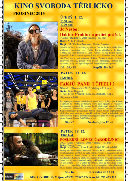 Kino PROSINEC 2015 (3)