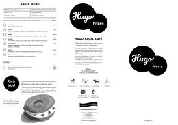 Příběh - Hugo Bagel Cafe Slaný
