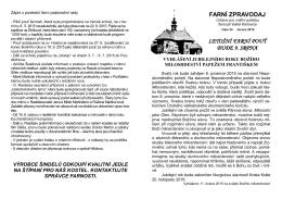 FZ 34 - Římskokatolická farnost Velké Karlovice