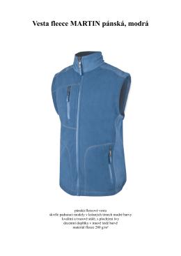 Fleesové vesty