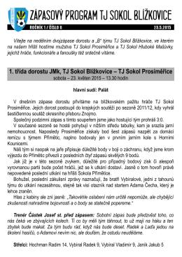 23.5.2015 (1/6) - TJ Sokol Blížkovice