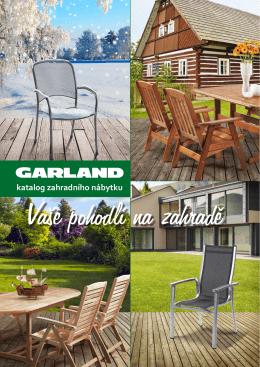 Katalog nábytku Garland 2015