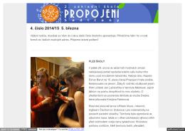 Informační bulletin č.4 – březen