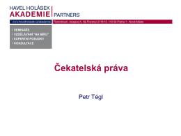 JUDr. PETR TÉGL, Ph.D.